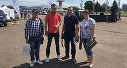 "Делегация завода ""Галещина Мащзавод"" посетила AgroShow-2018"