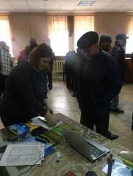 Галещина, машзавод на съезде фермеров Полтавской области