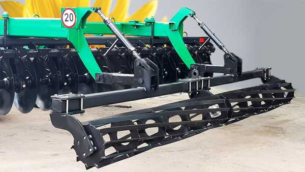 Packing soil compactor for disc harrow BGR-4,2 «Solokha»