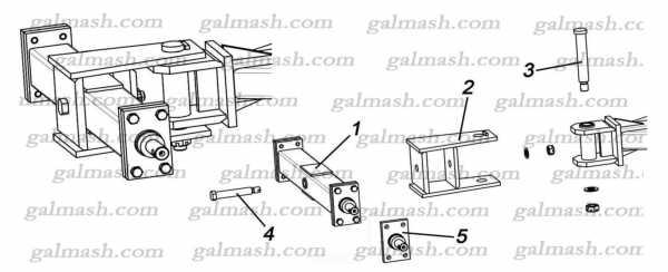 Причіпний пристрій до культиватора КШН-5,6 «Резидент»