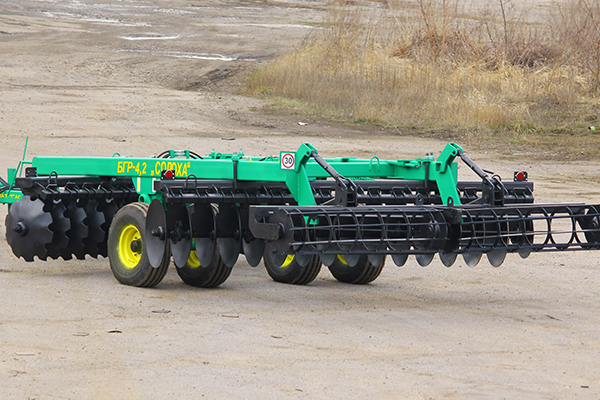 Disc harrow BGR-4,2 «Solokha»