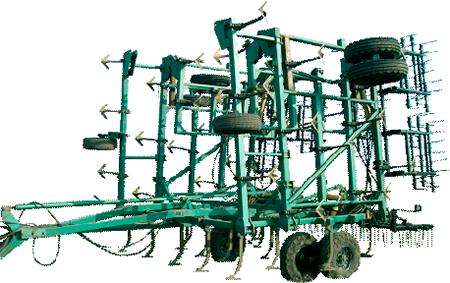 Semi-towed fallow cultivator KPN-12 «Vakula»