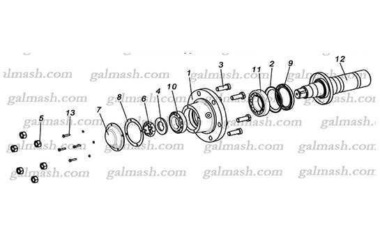 Колесо без диска і шини до культиватора ККП- 6,0 «Кардинал»